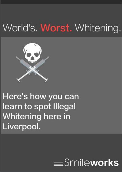 Smileworks Illegal whitening report
