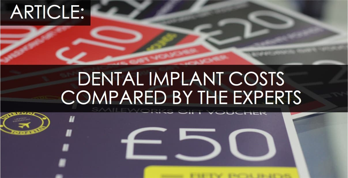 dental implants cost UK