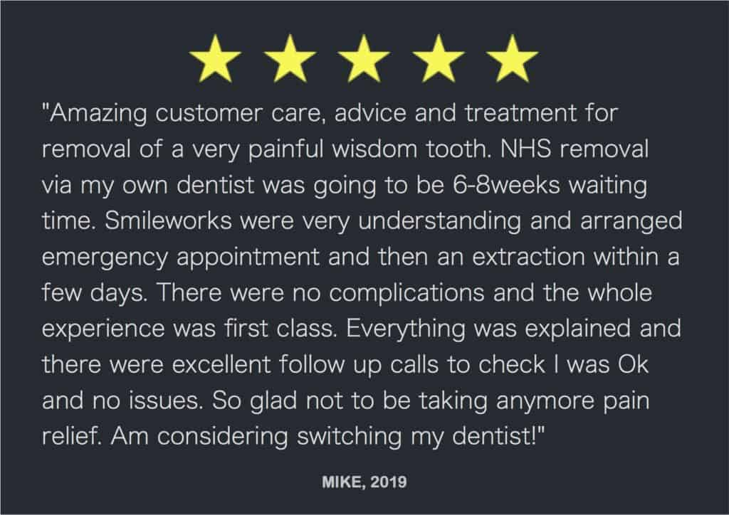 Mike wisdom tooth review