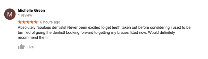 Wisdom tooth extraction five star review