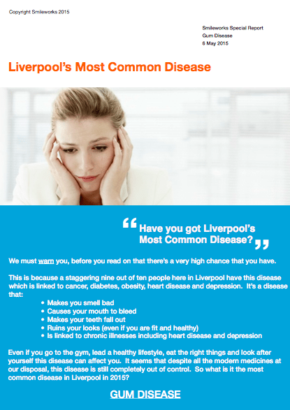 Liverpool's most common disease