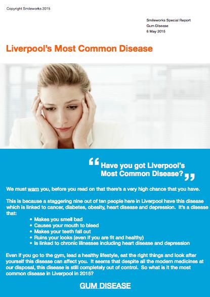 Liverpool's most common disease