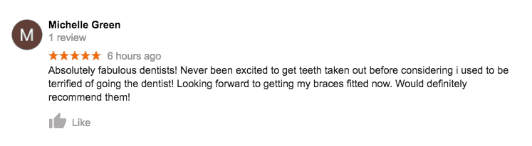 Anca 5 star review for oral surgery
