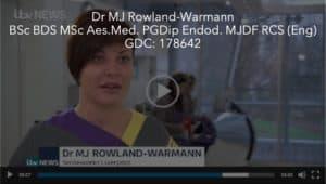 Dr MJ Rowland-Warmann BSc BDS MSc PGDip MJDF