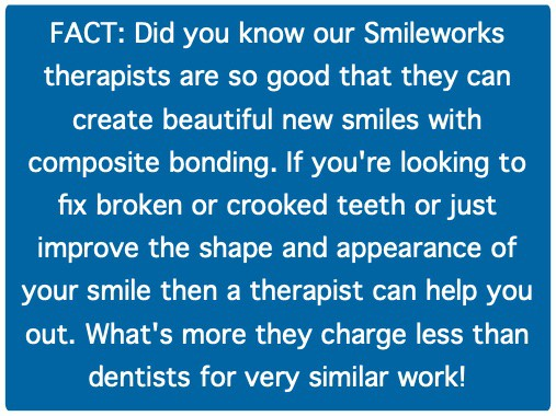 Dental Hygiene Therapists can do Composite Bonding