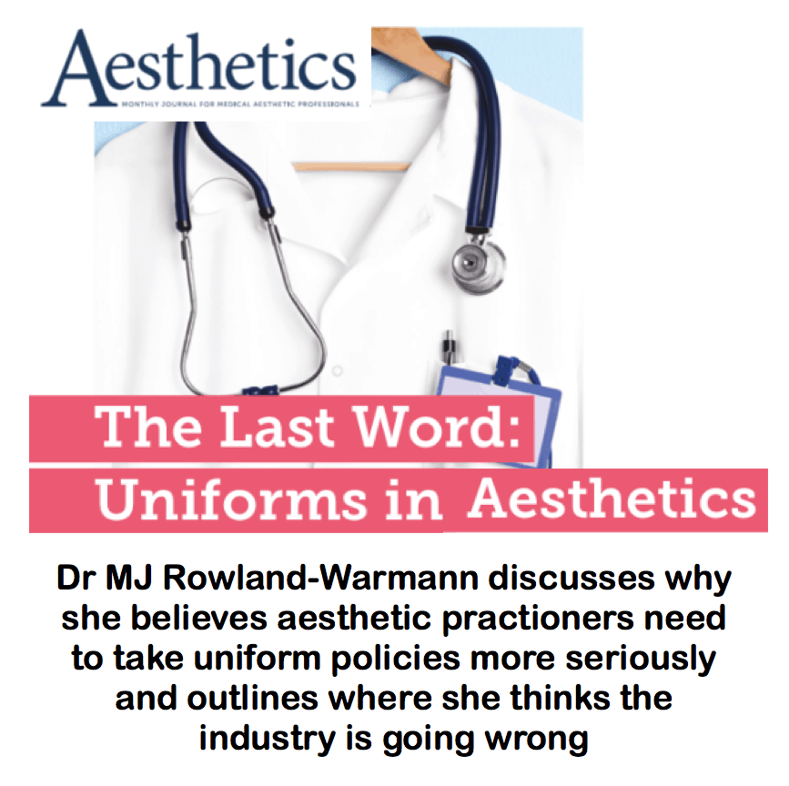 Aesthetics Journal <br/> <br/> The Last Word: Uniforms in aesthetics