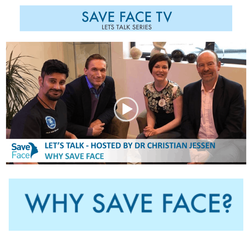 Save Face TV: <br/> <br/> Dr Christian Asks Why Save Face?