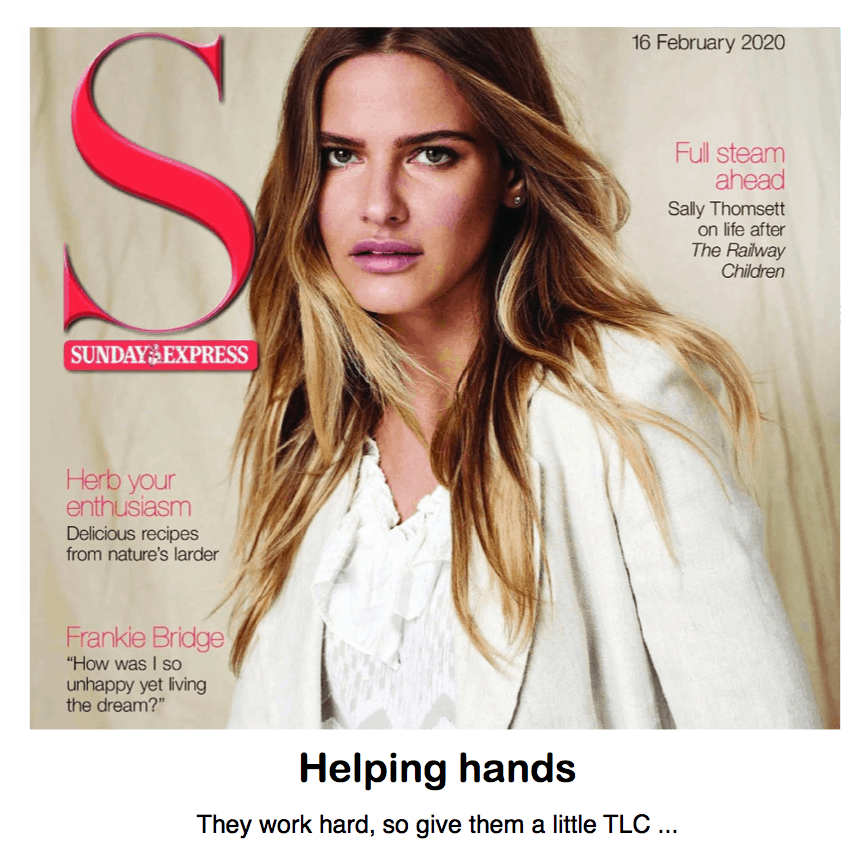 S Magazine - Sunday Express <br/> <br/> Helping hands