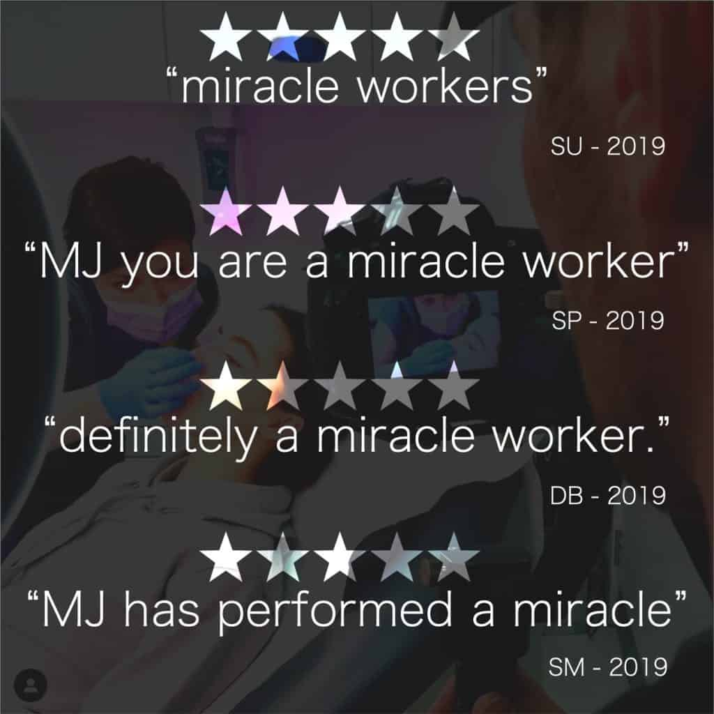 Miracle worker patient reviews